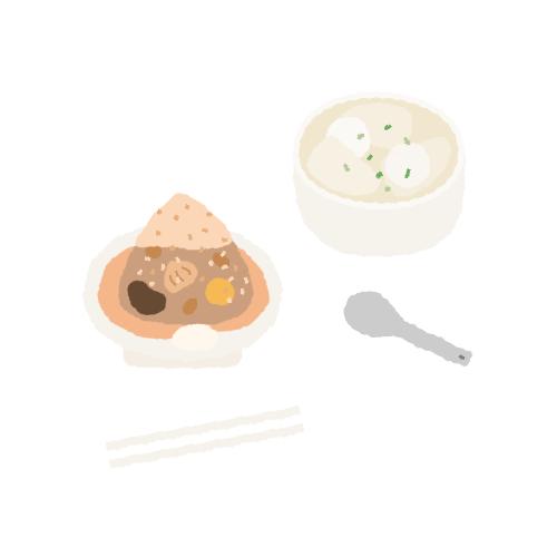 台北・南京復興站|台北好吃的傳統南部粽 – 王記府城肉粽