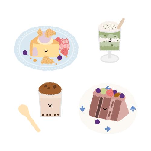台北・行天宮站|甜點超美的日系咖啡廳 – 疍宅Egghost