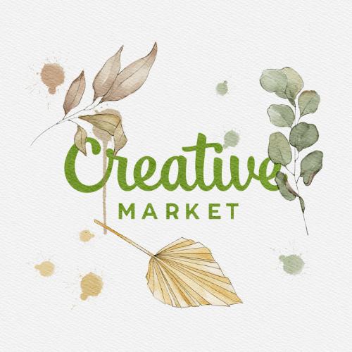 教學 設計師都該知道的超實用素材網站 – Creative Market(含免費素材下載)